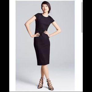Felicity & coco ward black seamed pencil dress